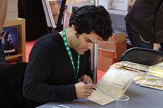 Mike Hawthorne - Mike Hawthorne in Quai des Bulles, Saint-Malo comics festival, 2012