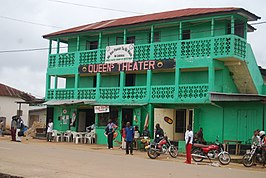 Theater in Ganta