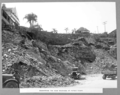 Queensland State Archives 3117 Excavation for road widening at Petrie Bight Brisbane c 1935.png