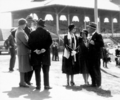 Queensland State Archives 3822 Mr and Mrs William Forgan Smith and friends at RNA Show Official Opening Ceremony 1930.png