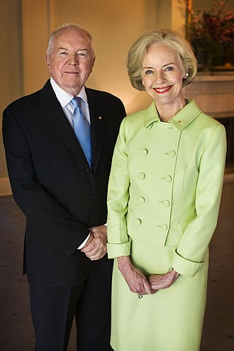 Quentin Bryce - Quentin and Michael Bryce.