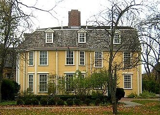 Dorothy Quincy - The Dorothy Quincy House, 34 Butler Road, Quincy, Massachusetts.