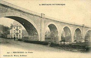 Réseau Breton - Viaduct at Pontrieux