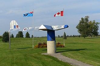 RCAF Station Aylmer - Image: RCAF Aylmer Memorial