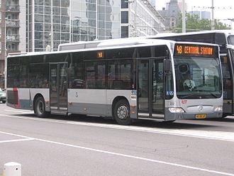 Rotterdamse Elektrische Tram - A Mercedes-Benz Citaro bus.