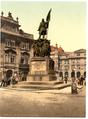 Radetzky Memorial, Prague, Bohemia, Austro-Hungary WDL2631.png