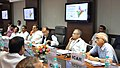 Radha Mohan Singh chairing the General Council meeting of the National Food Security Mission (NFSM), in New Delhi. The Minister of State for Agriculture and Food Processing Industries.jpg