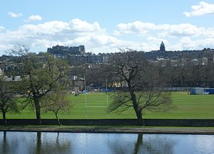 Edinburgh Academical Football Club - Raeburn Place.