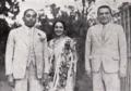 Rai Bahadur Chuni Lall - Devika Rani - Himansu Rai (march 1939).png