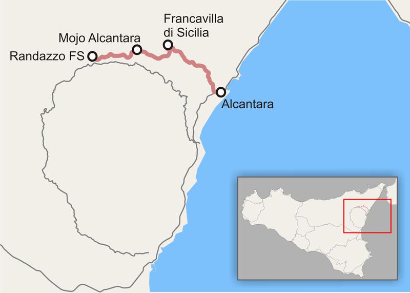 Ferrovia Valle Alcantara: summit al Parco Fluviale per riattivare la tratta turistica