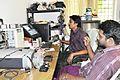 Rajesh Manganam editing Jalachhayam.jpg