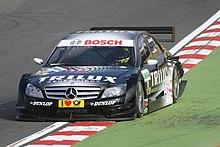 Ralf Schumacher a Brand Hatch nel 2008