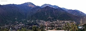 Ramban (Jammu and Kashmir) - Ramban Panorama as seen from Chandrog (Tantray Mohalla)