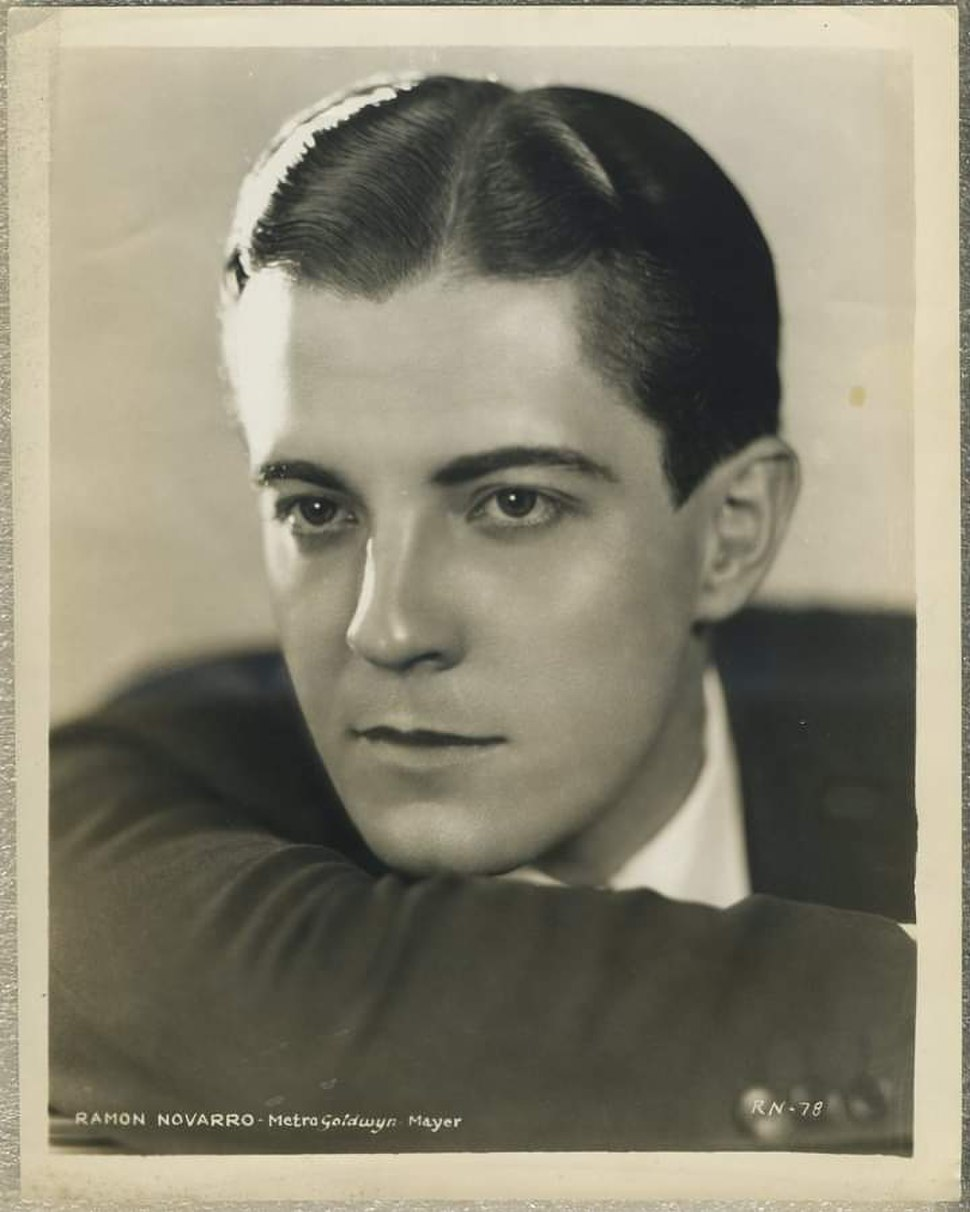 Ramon Novarro by Hurrell