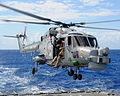 Rapid Rope Training from HMS Monmouth's Lynx Helicopter MOD 45153065.jpg