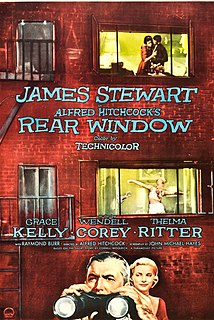 <i>Rear Window</i> 1954 American suspense film directed by Alfred Hitchcock