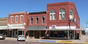 Red Cloud, Nebraska - Image: Red Cloud 4th Ave and Webster NE 4