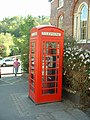 Red Telephone Box in the Market Square - geograph.org.uk - 267051.jpg