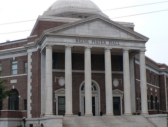 University of Alabama College of Communication and Information Sciences - Reese Phifer Hall, home of the College of Communication and Information Sciences