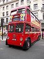 Regent Street Bus Cavalcade Q1 class trolleybus (14297453867).jpg