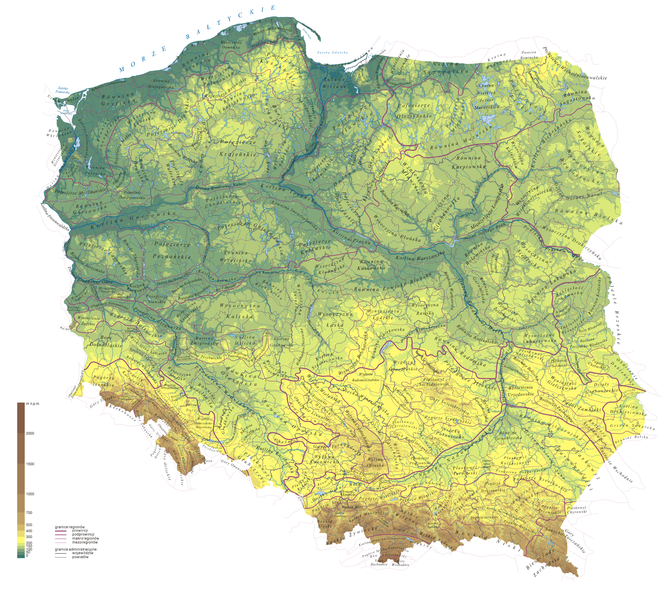 File:Regiony Kondrackiego-hipsometria.png