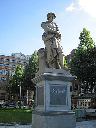 Rembrandtplein - Rembrandt on Rembrandtplein