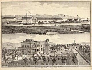 Roberts Landing, California Former settlement in California, United States