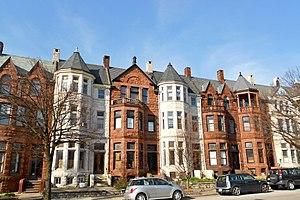 Reservoir Hill, Baltimore - Reservoir Hill Historic District, March 2012