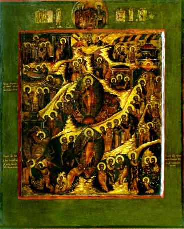 Resurrection of Jesus icon