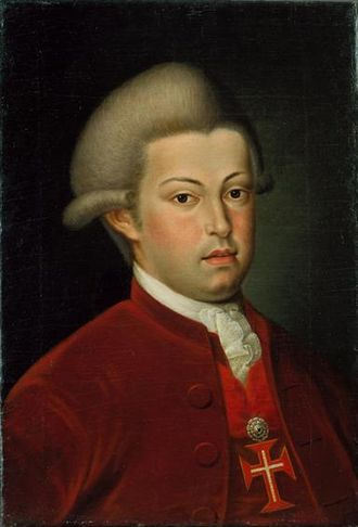 Prince Royal of Portugal - Image: Retrato de Joao VI, Principe do Brasil