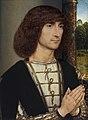Retrato de un hombre joven orante, por Hans Memling.jpg