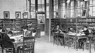 Denver Public Library - Children's reading room, 1900