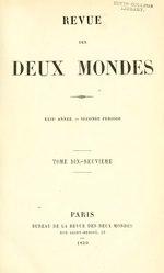 François Buloz: Revue des Deux Mondes