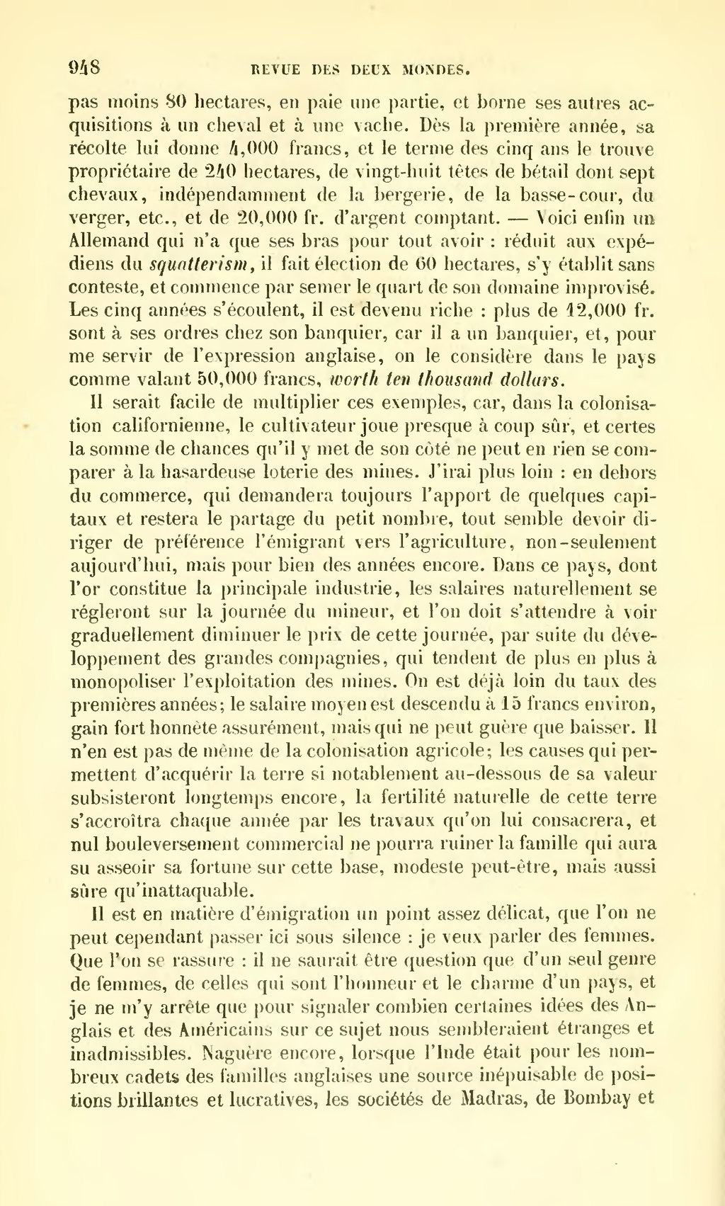 Page revue des deux mondes 1859 tome for Idees lucratives