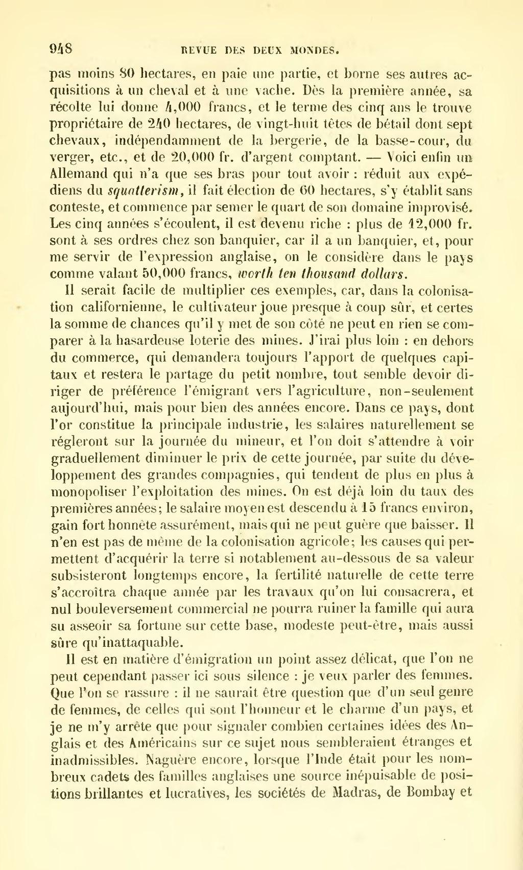 Page revue des deux mondes 1859 tome for Idees lucratives