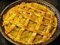 Rhubarb pie after, August 2009.jpg