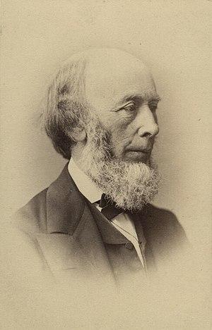 Richard Redgrave - Carte de visite depicting Richard Redgrave, 1860s.