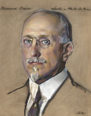 Richard Swann Lull - Portrait of Lull by William Sergeant Kendall