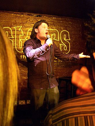 Richard Herring - Performing at the Kings Head pub in Crouch End, London