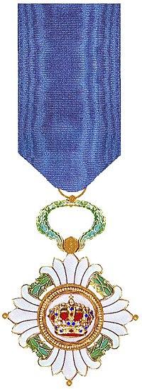 Ridder in de Orde van de Joegoslavische Kroon.jpg