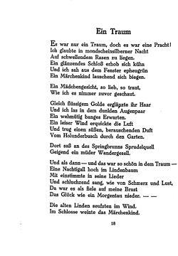 Ringelnatz gedichte nacht