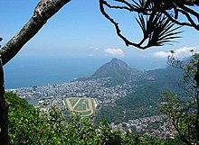 Uitzicht op de stad Rio de Janeiro