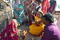 Ritual Blessing - Chhath Puja Ceremony - Grand Foreshore Road - Howrah 2013-11-09 4180.JPG