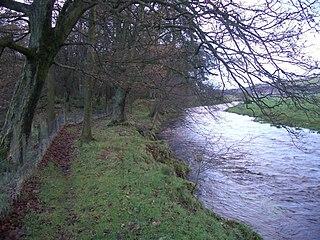 Crook of Devon village in Perth and Kinross, Scotland, UK