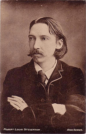 Photograph of author Robert Louis Stevenson