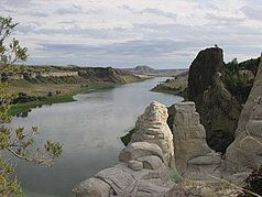 Missouri River im National Monument