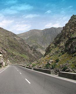 Kabul–Jalalabad Road Road in Afghanistan