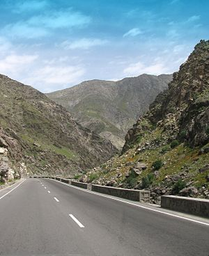 Kabul–Jalalabad Road - Somewhere on the Kabul–Jalalabad Road