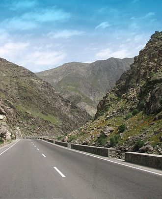 Highway 1 (Afghanistan) - Somewhere on the Kabul–Jalalabad Road