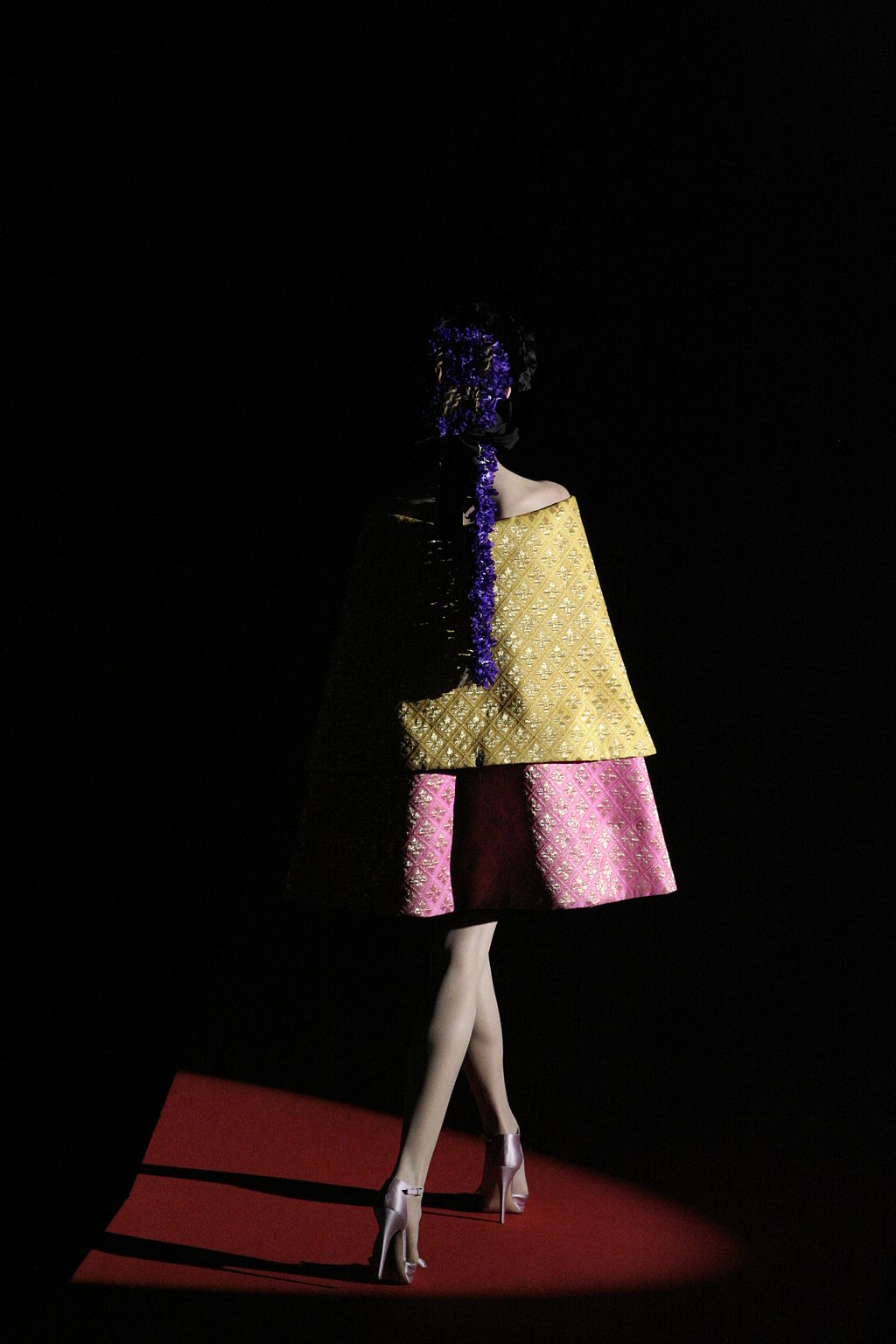 20 years of Christian Dior on the catwalk. Image via Wikipedia Commons.